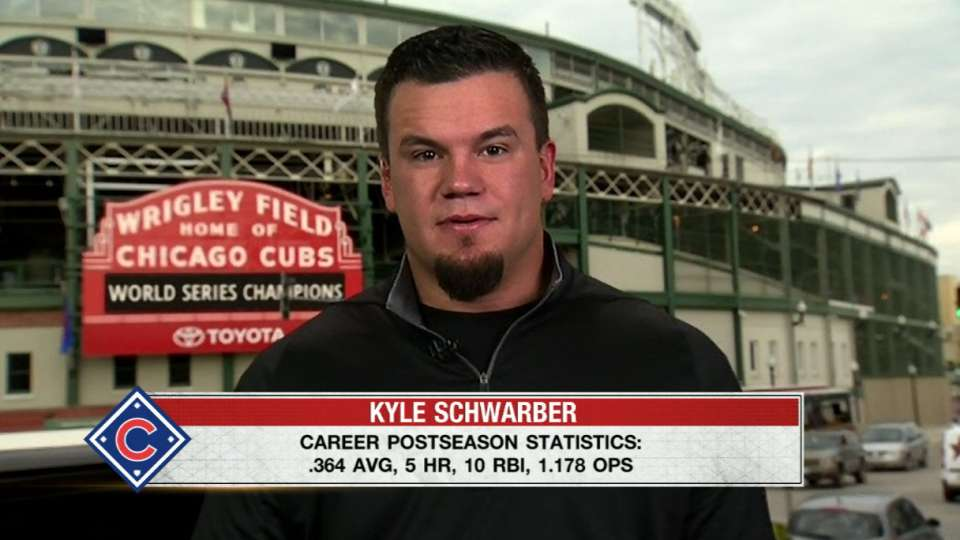 Kyle Schwarber on Hot Stove