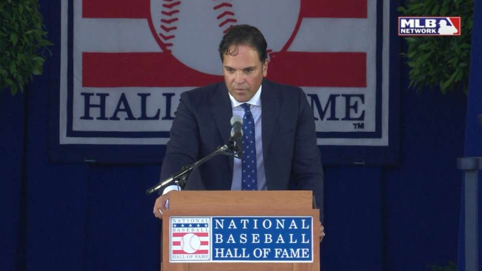 Piazza on Hall of Fame induction