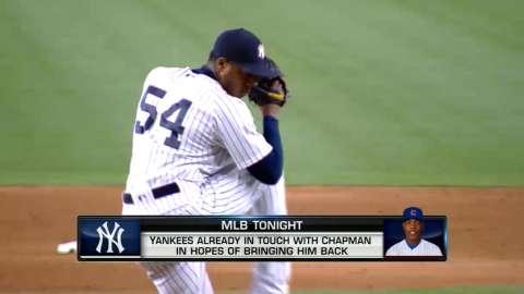 Yankees tar ing Chapman