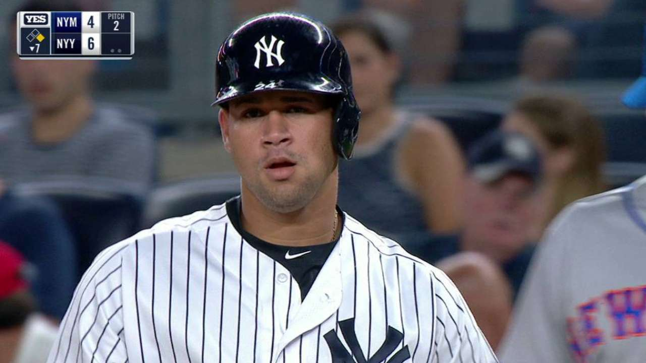 Gary Sanchez called up by Yankees  34f2f2e60