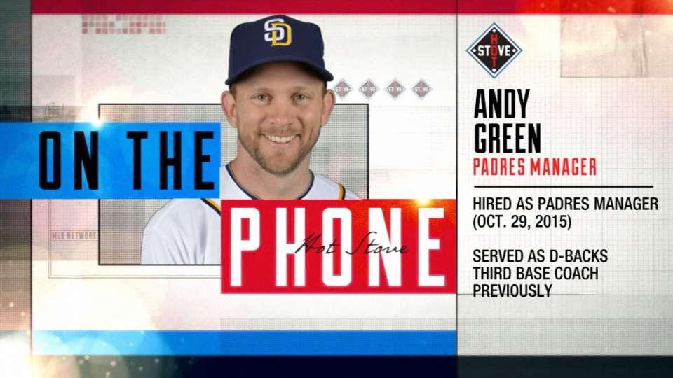 Hot Stove: Andy Green