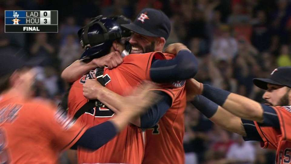 Fiers completes no-hitter