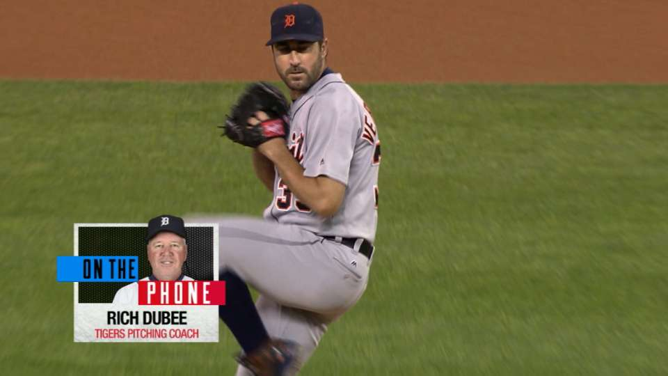 Dubee on Verlander's great 2016