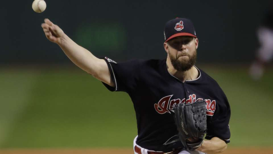Kluber places third in Cy Young
