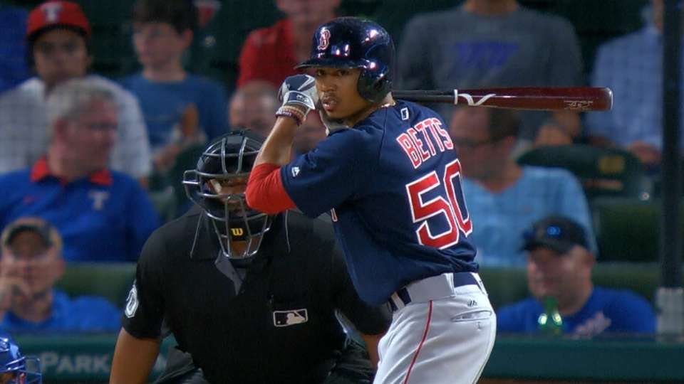 Betts finishes second for AL MVP