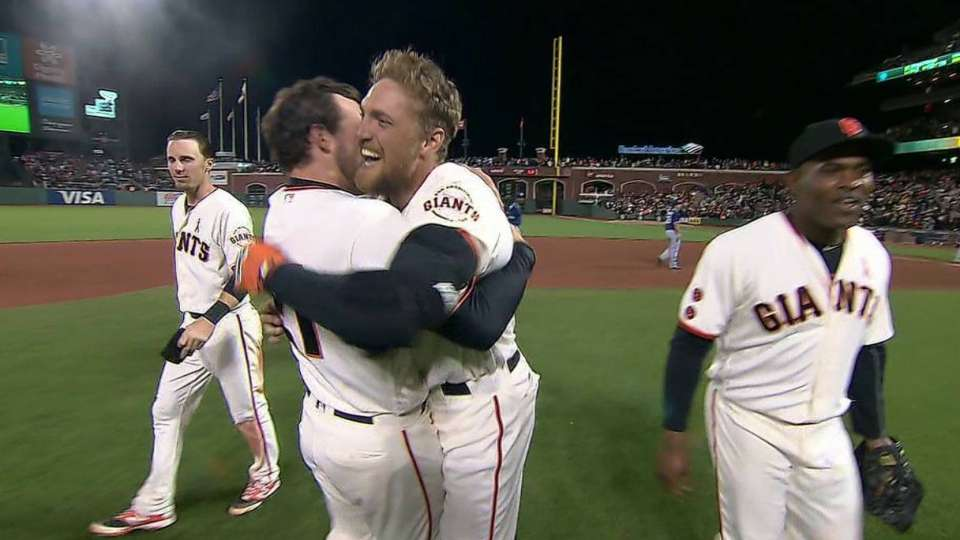 Pence's walk-off double
