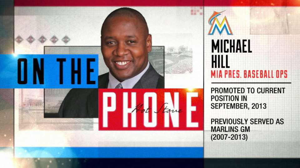 Hill on Marlins' pitching plans
