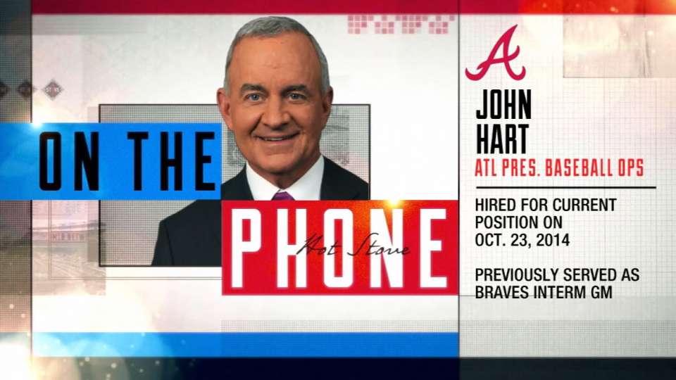 John Hart joins Hot Stove