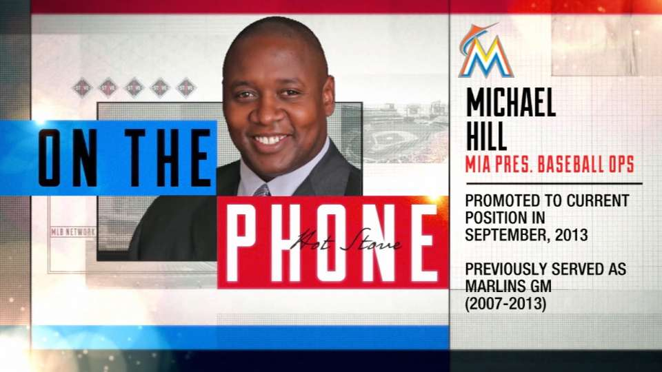 Mike Hill joins Hot Stove