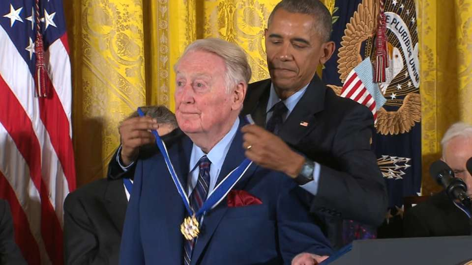 Scully awarded Medal of Freedom