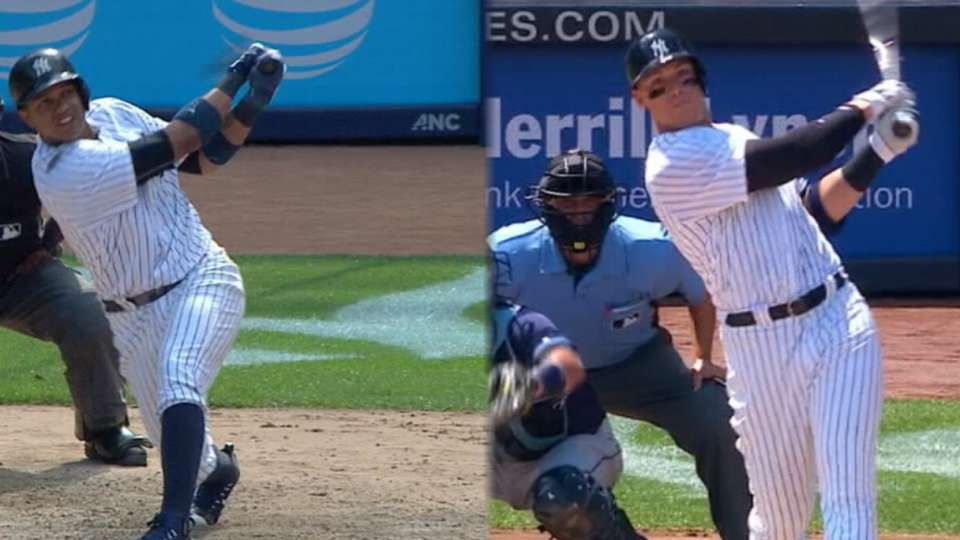 Statcast: Yankees' longest HRs