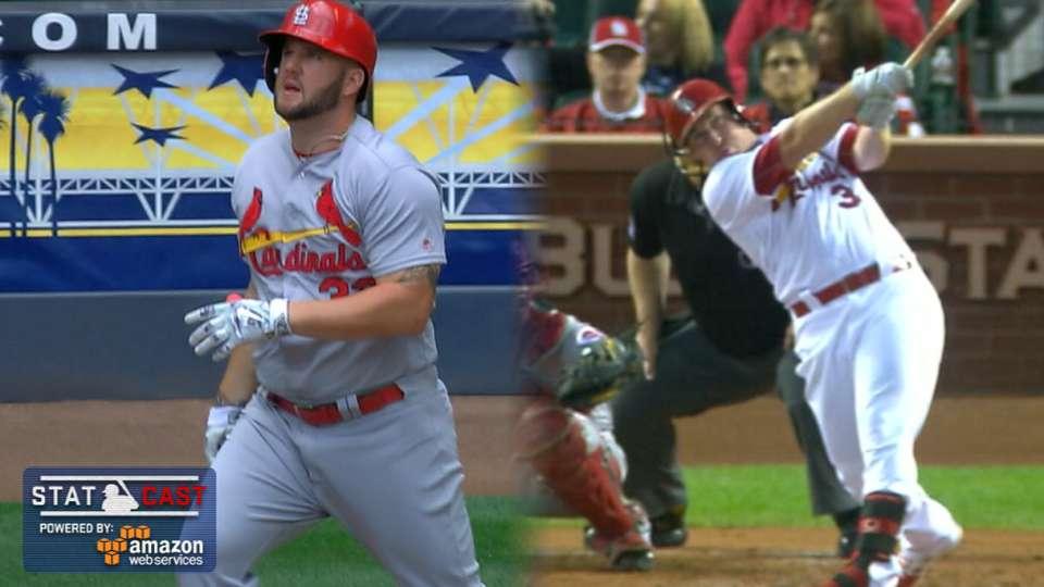 Statcast: Cardinals' longest HRs