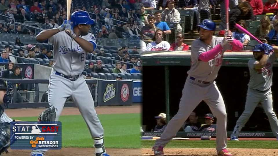 Statcast: Royals' impressive HRs