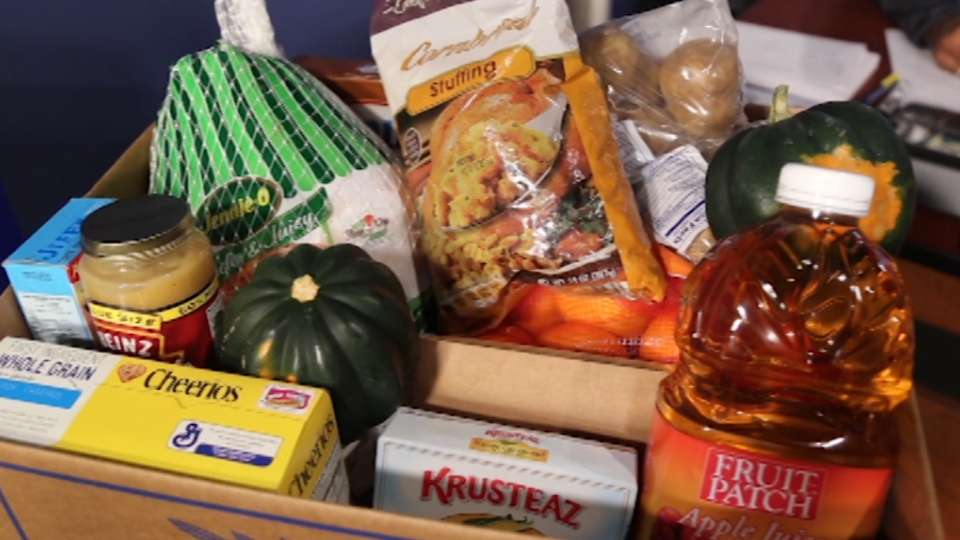 Brewers' Thanksgiving Food Drive
