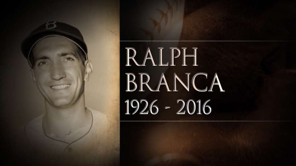 Russo pays tribute to Branca
