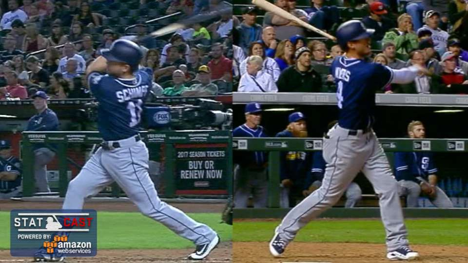 Statcast: Padres' 2016 homers