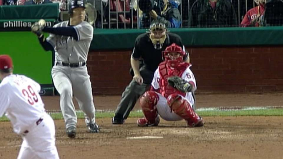 Matsui's pinch-hit homer