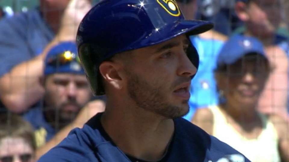 Brewers developing OF depth