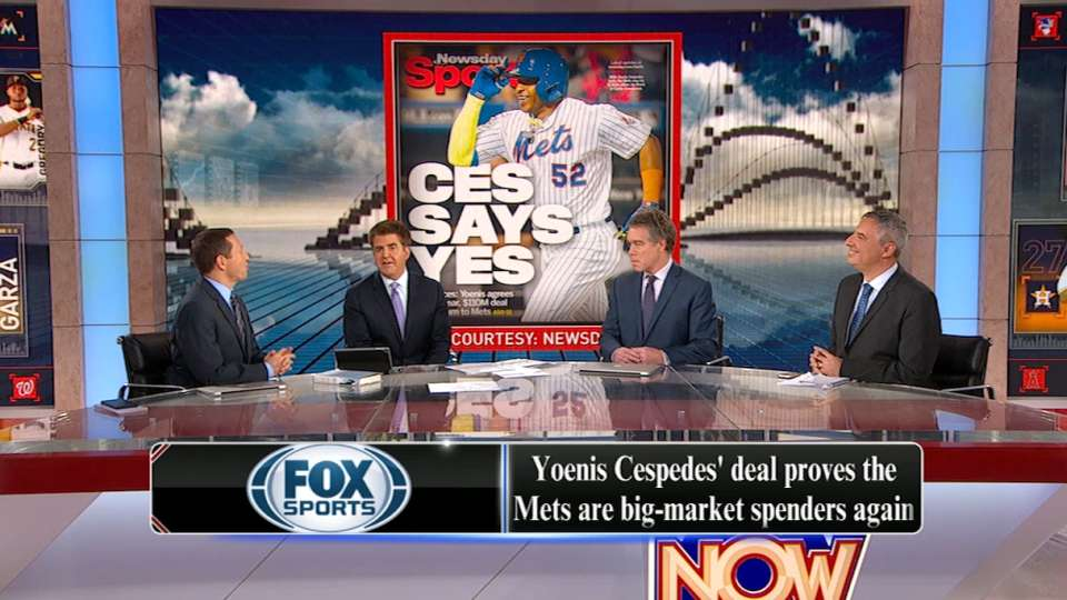 Cespedes' impact on Mets OF