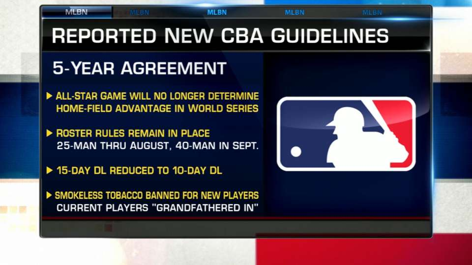 Hot Stove on reported CBA deal