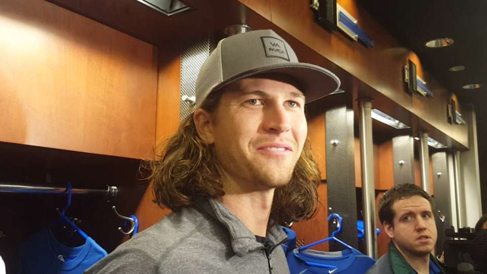 deGrom on his health, elbow