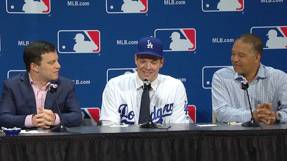 Hill discusses return to Dodgers