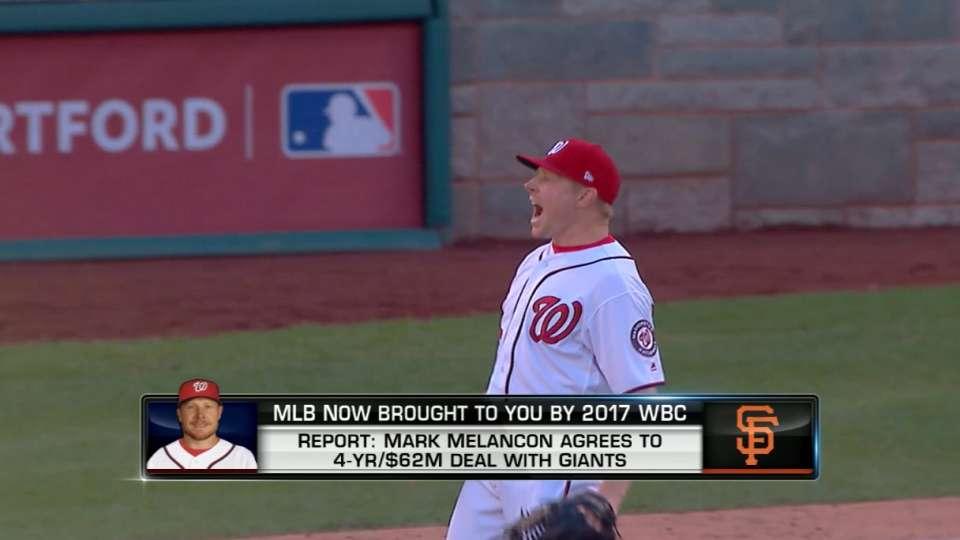 MLB Now on Melancon to Giants