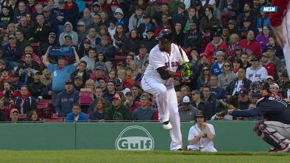 Ortiz's RBI double