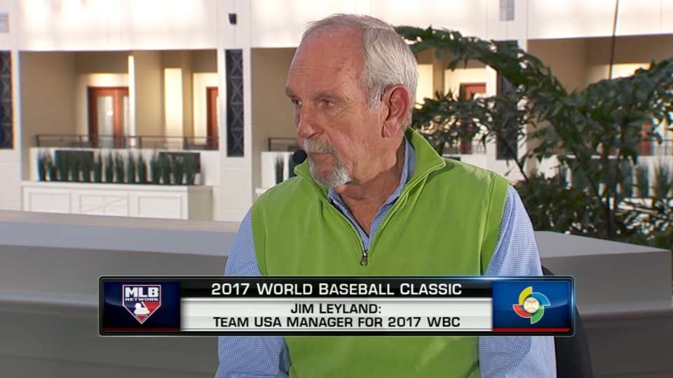 Leyland on Team USA roster