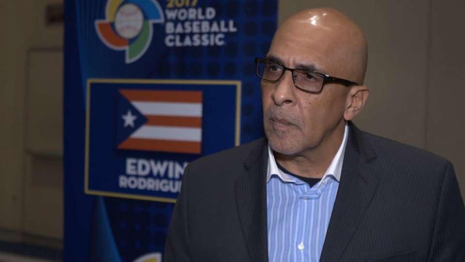 Rodriguez on Puerto Rico's team