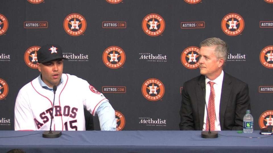 Beltran on young Astros core