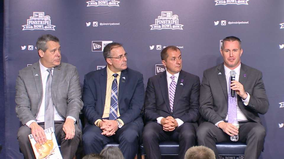 Pinstripe Bowl press conference