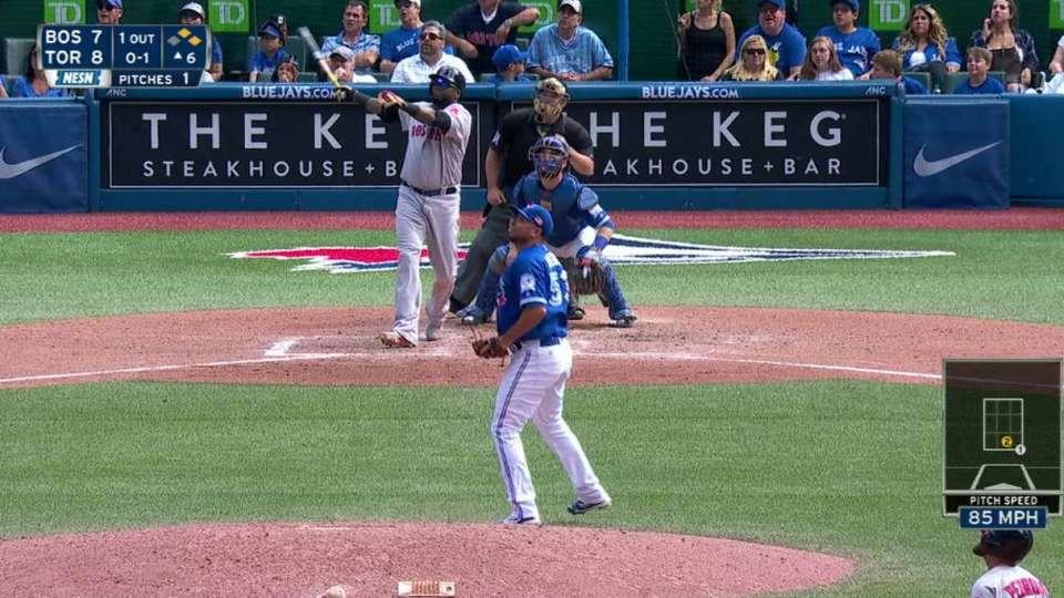 Ortiz's historic three-run homer