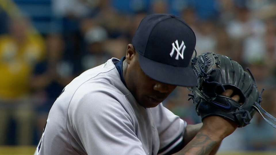 Yankees eyeing Chapman