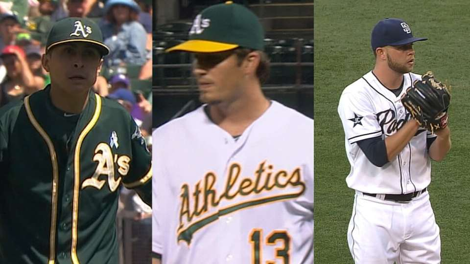 Lee on A's rotation battle