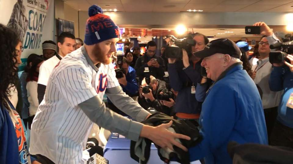 Mets Annual Coat Drive