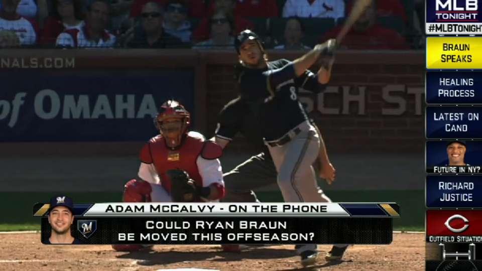 McCalvy on Braun's appearance