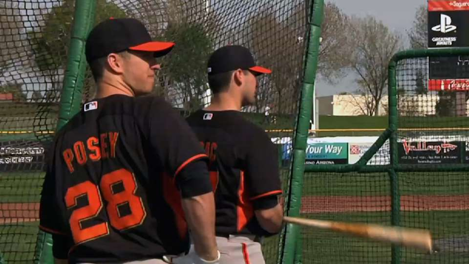 Posey on bouncing back in '14