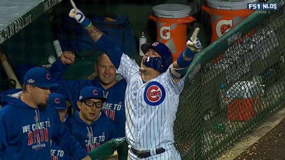 Baez's go-ahead home run