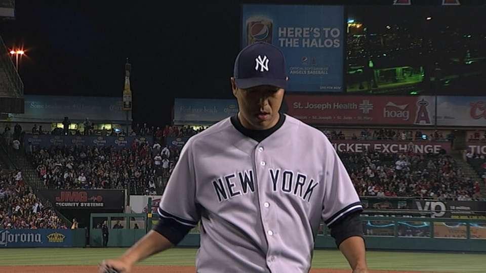 Justice on Kuroda, Yankees