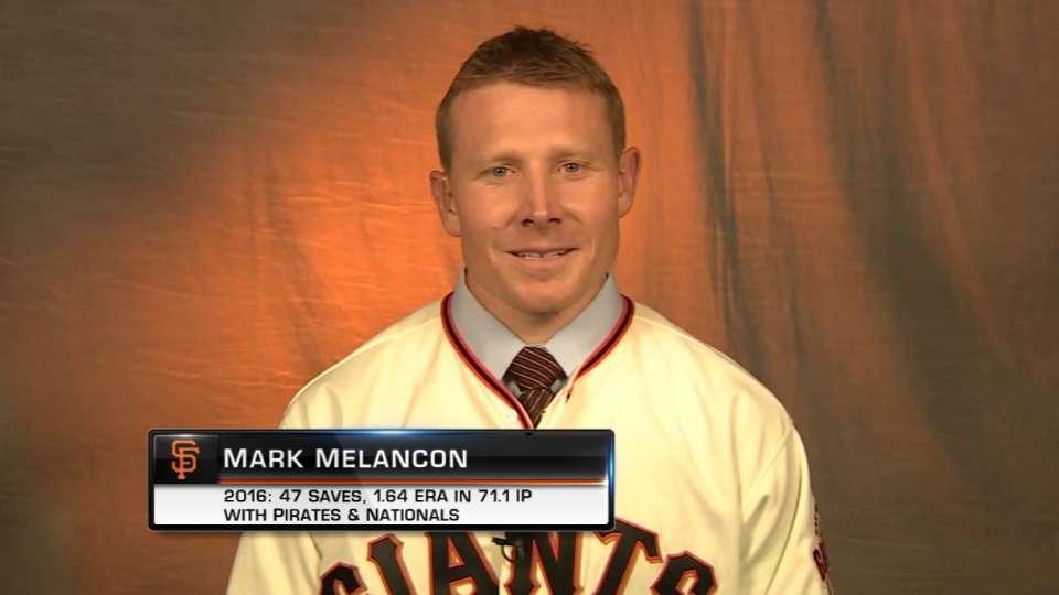 Melancon on joining the Giants
