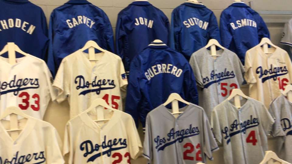 Searson on Dodgers pop up museum