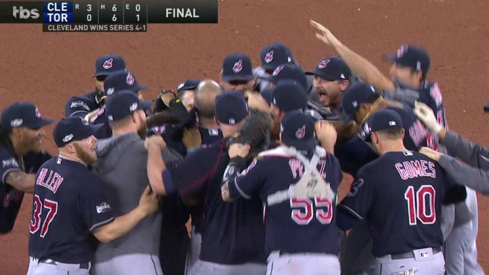 Indians win the AL pennant