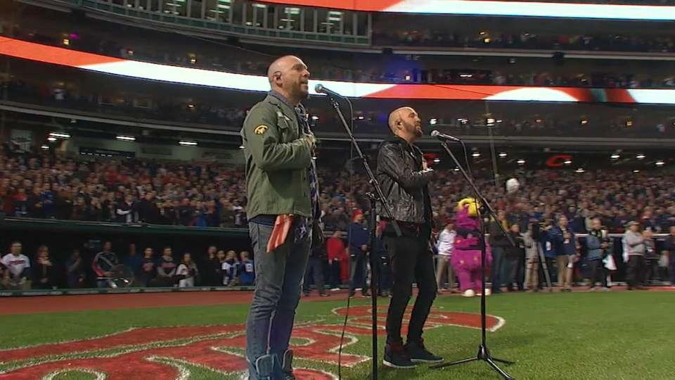 LoCash sings national anthem