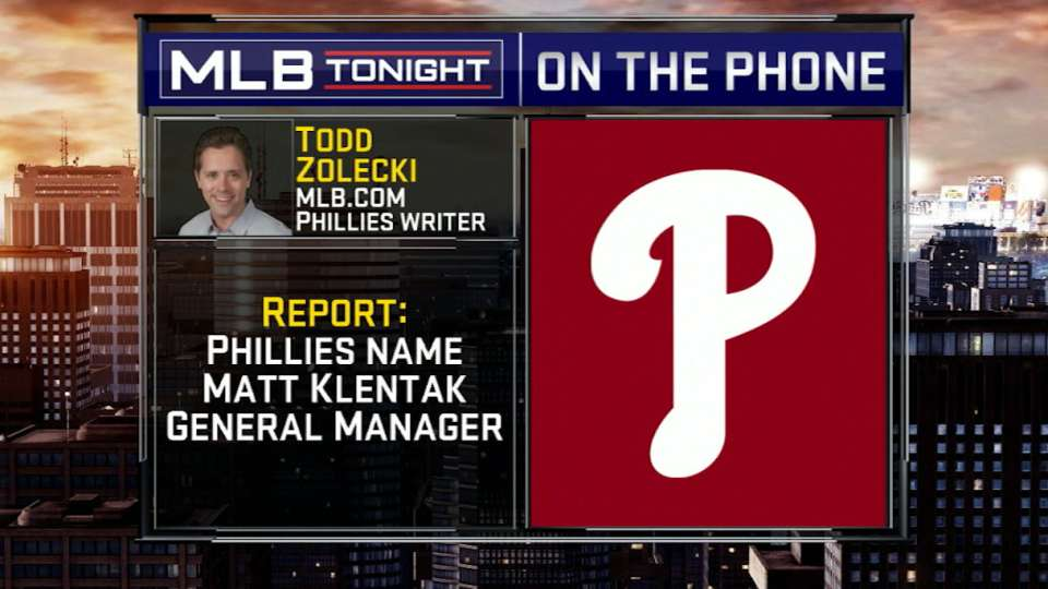 Zolecki on Phils hiring Klentak