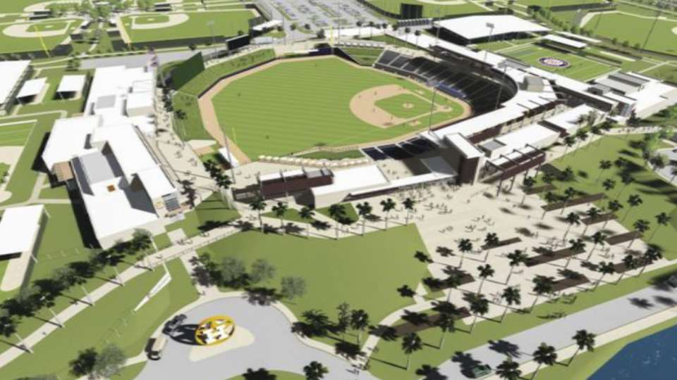 Ladson on new spring facility