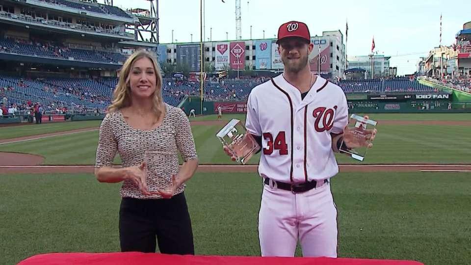 Harper, Scherzer receive awards