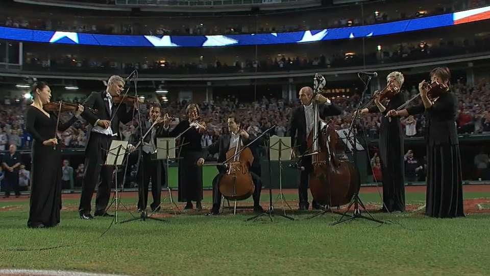String section's anthem