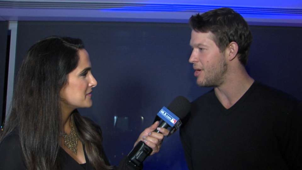 Kershaw discusses Under Armour