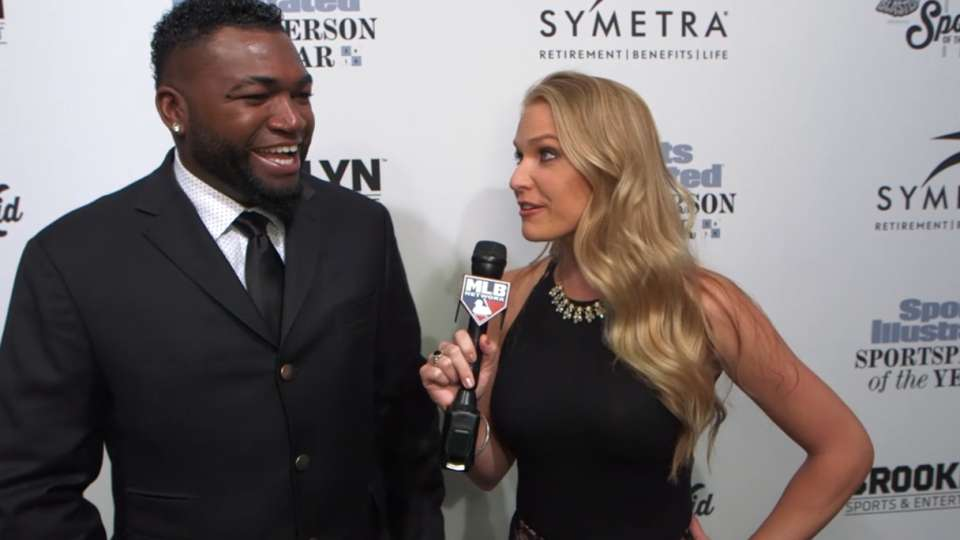 Ortiz at SI event red carpet